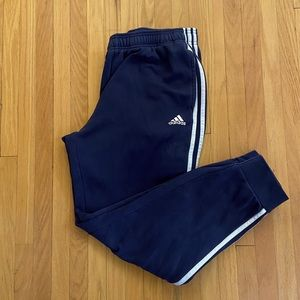 Adidas Men's Navy Blue Sweatpants